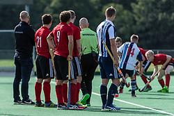 Southgate v Hampstead & Westminster- Pre-season, Trent Park, London, UK on 15 September 2018. Photo: Simon Parker