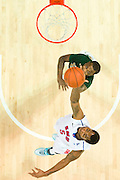 DALLAS, TX - JANUARY 15: Markus Kennedy #5 of the SMU Mustangs grabs a rebound against the South Florida Bulls on January 15, 2014 at Moody Coliseum in Dallas, Texas.  (Photo by Cooper Neill/Getty Images) *** Local Caption *** Markus Kennedy
