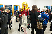 PANDEMONIA, Nothing Matters. Damien Hirst exhibition. White Cube. Mason's Yard. London. 24 November 2009