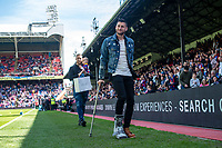 LONDON, ENGLAND - MAY 13: injured Joel Ward of Crystal Palace during the Premier League match between Crystal Palace and West Bromwich Albion at Selhurst Park on May 13, 2018 in London, England. MB Media