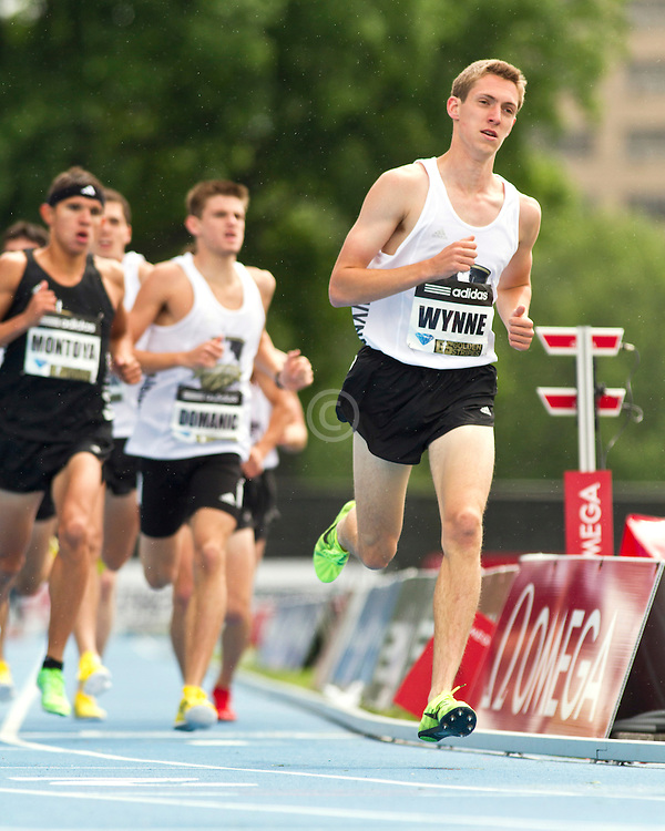 adidas Grand Prix professional track & field meet: high school boys Dream Mile, Henry Wynne