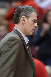 07 January 2018:  Paul Lusk during a College mens basketball game between the Missouri State Bears and Illinois State Redbirds in Redbird Arena, Normal IL