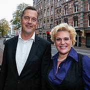 NLD/Amsteram/20121024- Presentatie biografie Joop van den Ende, Marjolein Touw en partner Rob