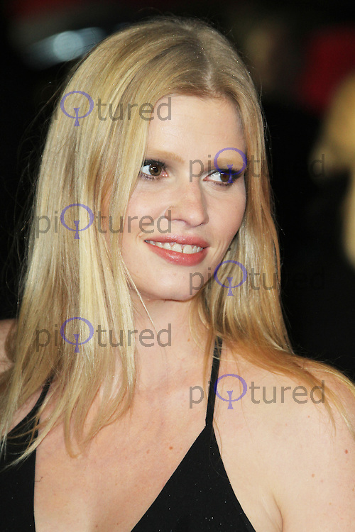 LONDON - OCTOBER 21: Lara Stone attended the European Film Premiere of 'Great Expectations' at the Odeon Leicester Square, London, UK. October 21, 2012. (Photo by Richard Goldschmidt)