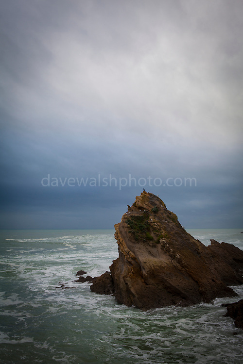 "Winter in Biarritz, with a wild Atlantic Ocean. This mage can be licensed via Millennium Images. Contact me for more details, or email mail@milim.com For prints, contact me, or click ""add to cart"" to some standard print options."