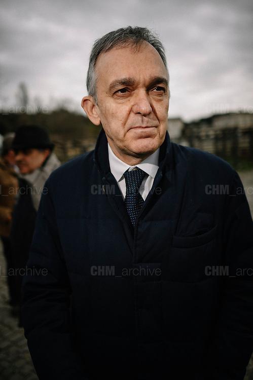 Enrico Rossi. Rome 25 Febraury 2017. Christian Mantuano / OneShot