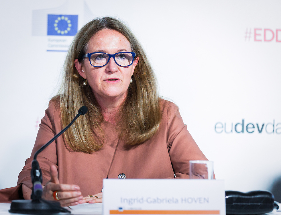 20160615 - Brussels , Belgium - 2016 June 15th - European Development Days - Tapping into the economic potential of refugees - A win-win for all ? Ingrid-Gabriela Hoven , Director-General Global Issues Sector Policies and Programmes , German Federal Ministry for Economic Cooperation and Development © European Union
