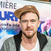 NLD/Amsterdam/20170318 - première De Smurfen en het Verloren Dorp, Johnny de Mol