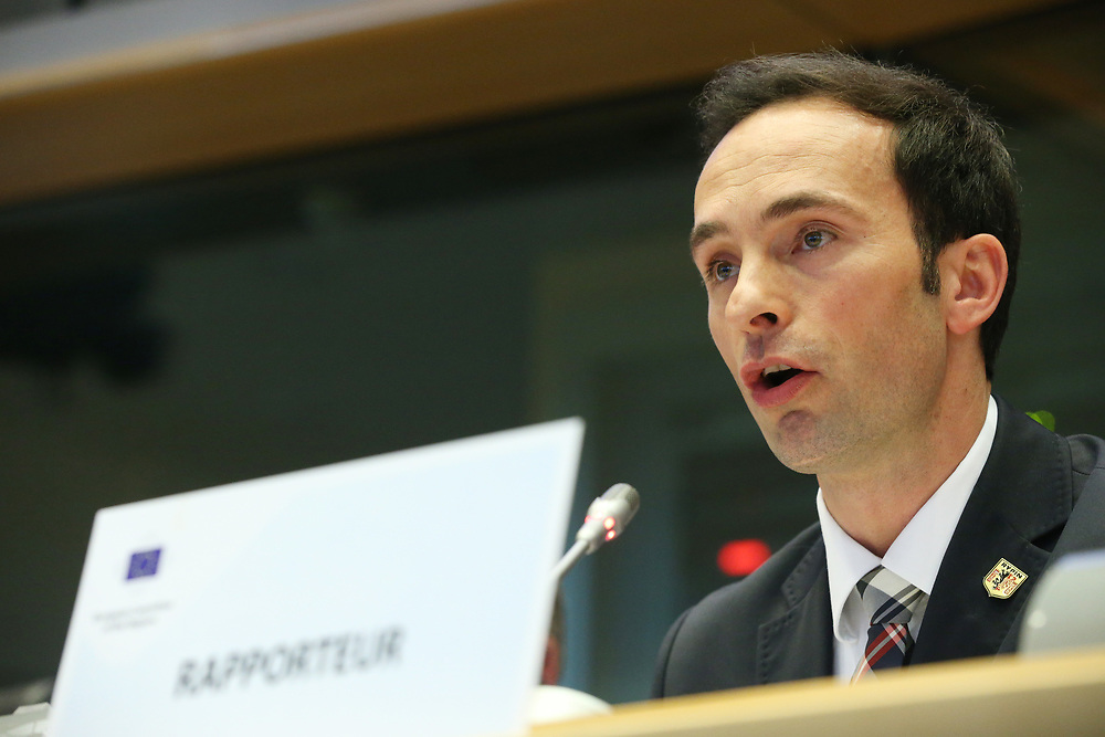 11 May 2017, 123rd Plenary Session of the European Committee of the Regions <br /> Belgium - Brussels - May 2017 <br /> <br /> Mr Pavel Grzybowski (PL/ECR)<br /> <br /> &copy; European Union / Patrick Mascart