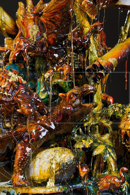 The work of Bowen Galleries' represented artist Geoff Dixon