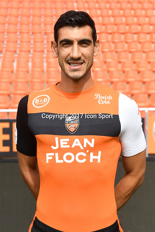 Felipe Patavino Saad during photoshooting of FC Lorient for new season 2017/2018 on September 12, 2017 in Lorient, France. (Photo by Philippe Le Brech/Icon Sport)