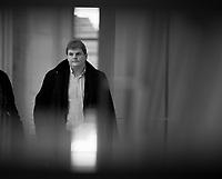 DEU, Deutschland, Germany, Berlin, 16.01.2018: Dr. Rainer Kraft (MdB, Alternative für Deutschland, AfD) vor Beginn der Fraktionssitzung der AfD-Fraktion im Deutschen Bundestag.