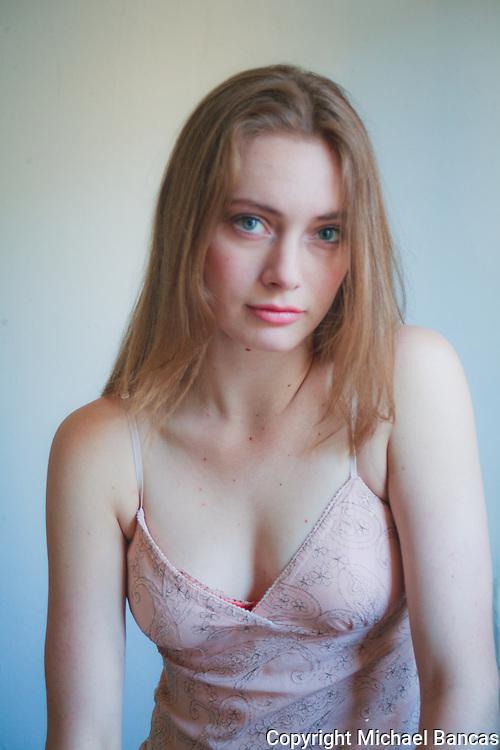 Alexandra in New York studio