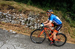 Kristjan Hocevar (SLO) of Slovenia during 4th Stage of 26th Tour of Slovenia 2019 cycling race between Nova Gorica and Ajdovscina (153,9 km), on June 22, 2019 in Slovenia. Photo by Vid Ponikvar / Sportida