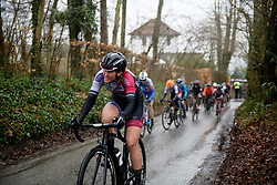 Sarah Rijkes (AUT) at Dwars door Vlaanderen Elite Women 2018 - a 118 km road race from Tielt to Waregem on March 28, 2018. Photo by Sean Robinson/Velofocus.com