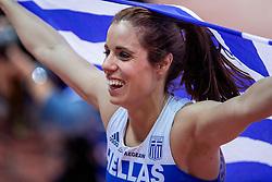 04-02-2017  SRB: European Athletics Championships indoor day 2, Belgrade<br /> Gold Ekaterina Stefanidi GRE pole vault