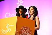 Kalen Aubry Israel and Kaye Popofsky Kramer, Founder, Step Up Women's Network