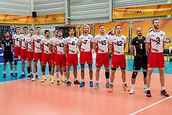 23-05-2017 NED: 2018 FIVB Volleyball World Championship qualification, Koog aan de Zaan<br /> Slowakije - Oostenrijk / Line up Oostenrijk