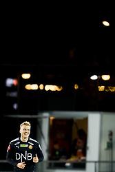 October 14, 2017 - Drammen, NORWAY - 171014 Eirik Ulland Andersen of StrÂ¿msgodset celebrates 1-0 during the Eliteserien match between StrÂ¿msgodset and Odd on October 14, 2017 in Drammen..Photo: Jon Olav Nesvold / BILDBYRN / kod JE / 160044 (Credit Image: © Jon Olav Nesvold/Bildbyran via ZUMA Wire)