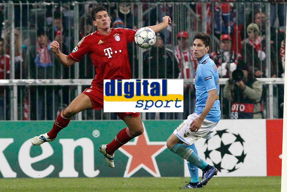 MARIO GOMEZ Bayern<br /> MONACO  02/11/2011 STADIO &quot;ALLEANZ ARENA&quot;<br /> FOOTBALL CALCIO CHAMPIONS LEAGUE 2011/2012<br /> BAYERN MUNCHEN MONACO VS NAPOLI NAPLES<br /> FOTO PARTENOPRESS\INSIDEFOTO