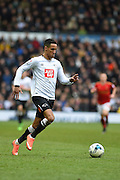 Derby County midfielder Tom Ince during the Sky Bet Championship match between Derby County and Nottingham Forest at the iPro Stadium, Derby, England on 19 March 2016. Photo by Jon Hobley.