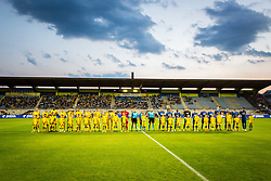 Players during 2nd leg football match between NK Domzale and NK Siroki Brijeg in 1st Qualifying round of UEFA Europa League, on July 19, 2018 in Domzale Sports Park, Domzale, Slovenia. Photo by Ziga Zupan / Sportida