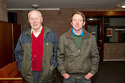 Tom and Kevin Fallon, Turloughmore  at the Sheep Seminar at the Teagasc Liam Mellows campus Athenry.Picture:Andrew Downes