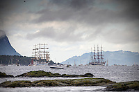 The Tall Ships Races 2015 Ålesund dag 4, Sail Off Parade.<br />