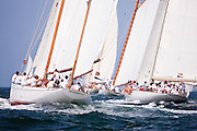 Mariella and Wild Horses sailing in the Opera House Cup Regatta.