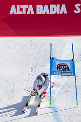 18.12.2016, Grand Risa, La Villa, ITA, FIS Ski Weltcup, Alta Badia, Riesenslalom, Herren, 2. Lauf, im Bild Gino Caviezel (SUI) // Gino Caviezel of Switzerland reacts after his 2nd run of men's Giant Slalom of FIS ski alpine world cup at the Grand Risa race Course in La Villa, Italy on 2016/12/18. EXPA Pictures © 2016, PhotoCredit: EXPA/ Johann Groder