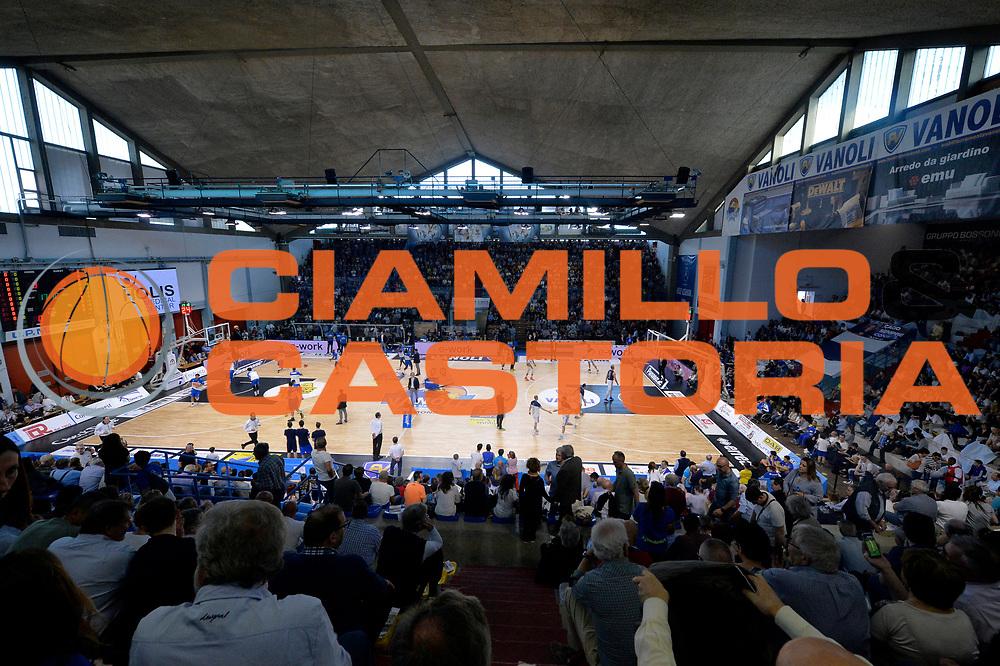 panoramica <br /> Vanoli Cremona - Germani Basket Brescia Leonessa<br /> Lega Basket Serie A 2016/2017<br /> Cremona, 09/04/2017<br /> Foto M.Ceretti / Ciamillo - Castoria