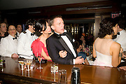Satsuki Mitchell; Daniel Craig; , Vanity Fair Oscar night party hosted by Graydon Carter.  Sunset  Tower Hotel, West Hollywood. 22 February 2009.