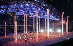 07.02.2014, Olympiastadion Fischt, Adler, RUS, Sochi 2014, Eröffnungsfeier der XXII. Olympischen Winterspiele, im Bild Choreographie // choreography during the Opening Ceremony of the Olympic Winter Games Sochi 2014 at the Fisht Olympic Stadium in Adler, Russia on 2014/02/07. EXPA Pictures © 2014, PhotoCredit: EXPA/ Johann Groder