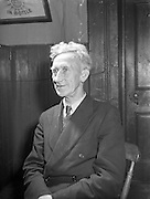 28/01/1957<br /> 01/28/1957<br /> 28 January 1957<br /> <br /> Ballinasloe Tinker Housing Story - Special for Sunday Express<br /> Mr James Riddell, Member of Urban Council