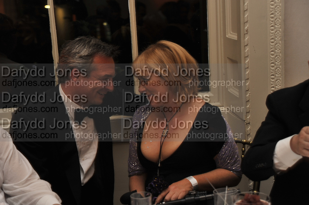 Stefan Ratibar; HANNAH ROTHSCHILD, Nicky Haslam party for Janet de Bottona nd to celebrate 25 years of his Design Company.  Parkstead House. Roehampton. London. 16 October 2008.  *** Local Caption *** -DO NOT ARCHIVE-© Copyright Photograph by Dafydd Jones. 248 Clapham Rd. London SW9 0PZ. Tel 0207 820 0771. www.dafjones.com.