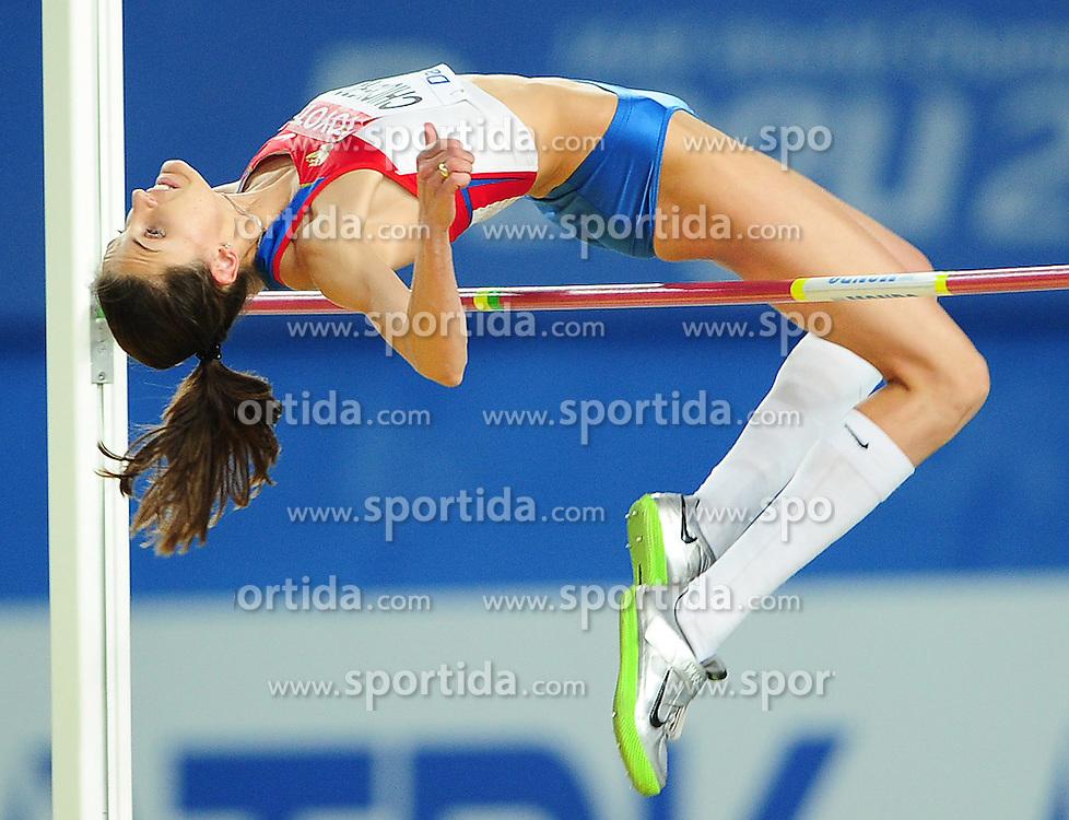 03.09.2011, Daegu Stadium, Daegu, KOR, IAAF, Weltmeisterschaft 2011, im Bild ANNA CHICHEROVA// during IAAF, World Championships 2011 in Daegu Stadium, Sudh Korea at 3/9/2011. EXPA Pictures © 2011, PhotoCredit: EXPA/ Newspix/ Marek Biczyk +++++ ATTENTION - FOR AUSTRIA/(AUT), SLOVENIA/(SLO), SERBIA/(SRB), CROATIA/(CRO), SWISS/(SUI) and SWEDEN/(SWE) CLIENT ONLY +++++ ..