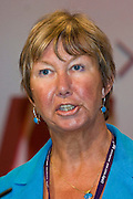 Judy Moorhouse, NUT, speaking at the TUC, Brighton 2007...© Martin Jenkinson, tel 0114 258 6808 mobile 07831 189363 email martin@pressphotos.co.uk. Copyright Designs & Patents Act 1988, moral rights asserted credit required. No part of this photo to be stored, reproduced, manipulated or transmitted to third parties by any means without prior written permission