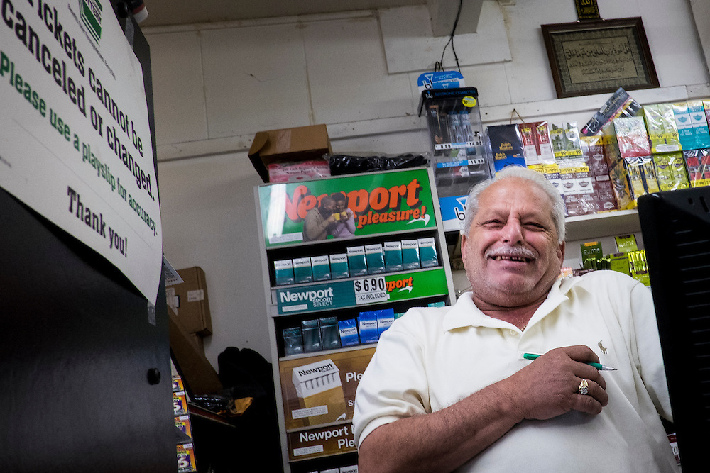 Jehad &quot;Jerry&quot; Jaber, 68, has owned the Plan 12 Market in Aliquippa, Pa. for nine years after closing the Linmar Market, which he owned for 33 years. <br />