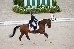 Anna Lukasik, (POL), Stella Pack Ganda - Grand Prix Team Competition Dressage - Alltech FEI World Equestrian Games™ 2014 - Normandy, France.<br /> © Hippo Foto Team - Leanjo de Koster<br /> 25/06/14