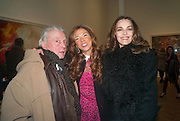 DAVID BAILEY; HEATHER KERZNER; CATHERINE BAILEY, Panta Rhei. An exhibition of work by Keith Tyson. The Pace Gallery. Burlington Gdns. 6 February 2013.