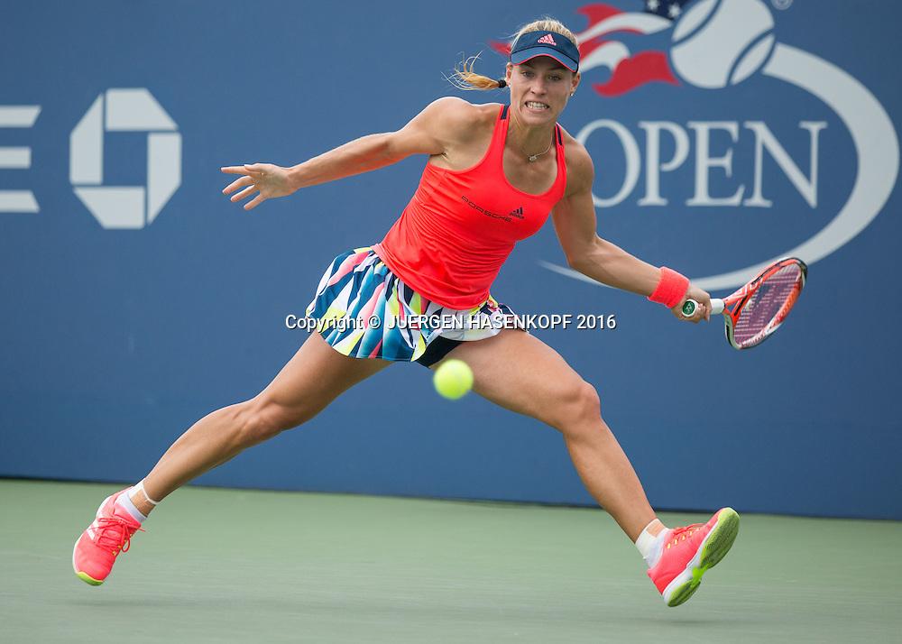 ANGELIQUE KERBER (GER)<br /> <br /> Tennis - US Open 2016 - Grand Slam ITF / ATP / WTA -  USTA Billie Jean King National Tennis Center - New York - New York - USA  - 31 August 2016.