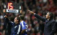 Photo: Paul Thomas.<br /> Liverpool v Chelsea. The FA Barclays Premiership. 19/08/2007.<br /> <br /> Jose Mourinho, manager of Chelsea.
