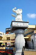 Elephant Statue At Babylon Court In Hollywood