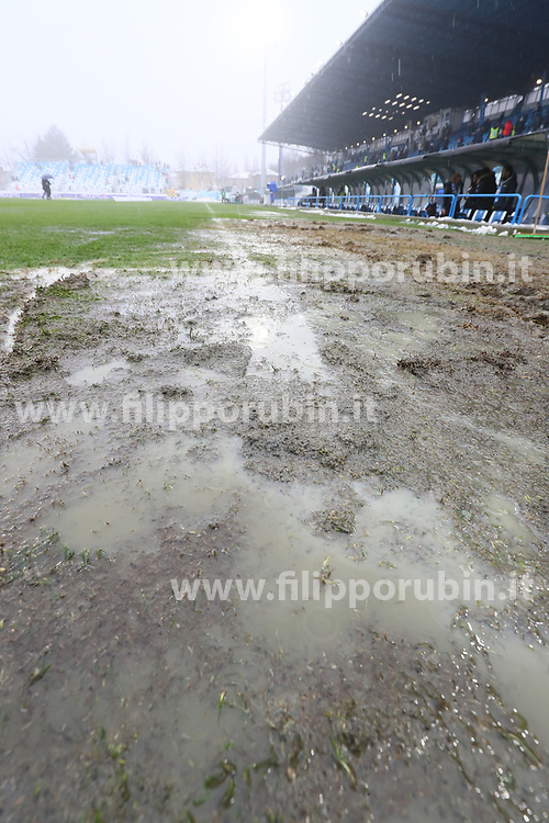 "Foto Filippo Rubin<br /> 03/03/2018 Ferrara (Italia)<br /> Sport Calcio<br /> Spal - Bologna - Campionato di calcio Serie A 2017/2018 - Stadio ""Paolo Mazza""<br /> Nella foto: LO STADIO PRIMA DELLA GARA<br /> <br /> Photo by Filippo Rubin<br /> March 03, 2018 Ferrara (Italy)<br /> Sport Soccer<br /> Spal vs Bologna - Italian Football Championship League A 2017/2018 - ""Paolo Mazza"" Stadium <br /> In the pic:"