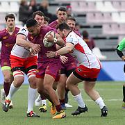 Roma 17/02/0218 Caserma Gelsomini<br /> Campionato italiano di eccellenza 2017/2018<br /> Fiamme Oro vs Rugby Reggio