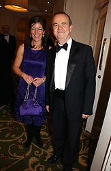 IAN HISLOP and his wife VICTORIA at the Costa Book Awards 2006 held at The Grosvenor House Hotel, Park Lane, London W1 on 7th February 2007.<br /><br />NON EXCLUSIVE - WORLD RIGHTS