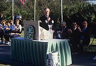Joe Flanagan <br /> The inaugural Solheim Cup competition took place in Orlando, Florida, United States at Lake Nona Golf &amp; Country Club from November 16 to November 18, 1990. The United States team beat the European team 11&frac12; points to 4&frac12;.<br /> <br /> <br /> Picture Credit:  Mark Newcombe / www.visionsingolf.com