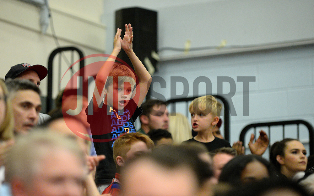 Bristol Flyers fans - Photo mandatory by-line: Dougie Allward/JMP - 17/09/2016 - BASKETBALL - SGS Wise Arena - Bristol, England - Bristol Flyers v Worcester Wolves - Exhibition Game