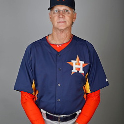 Feb 21, 2013; Kissimmee, FL, USA; Houston Astros assistant hitting coach Dan Radison (51) during photo day at Osceola County Stadium. Mandatory Credit: Derick E. Hingle-USA TODAY Sports