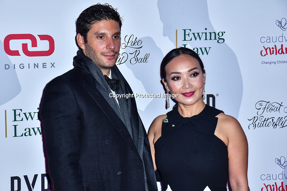 Ercan Ramadan arrive at Float Like A Butterfly Ball for Caudwell Children Charity at Grosvenor House Hotel on 16 November 2019, London, UK.